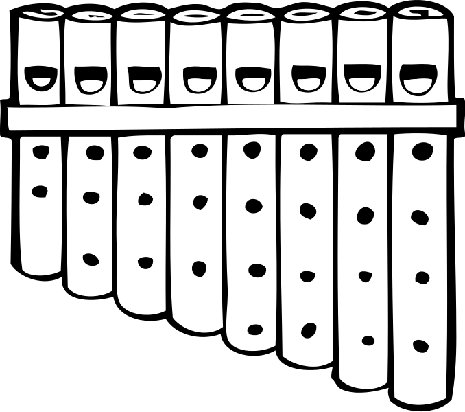 Flute svg #3, Download drawings