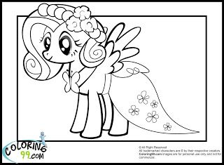 Fluttershy (My Little Pony) coloring #18, Download drawings
