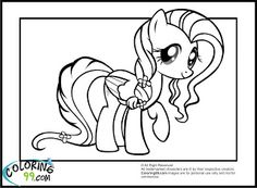 Fluttershy (My Little Pony) coloring #10, Download drawings