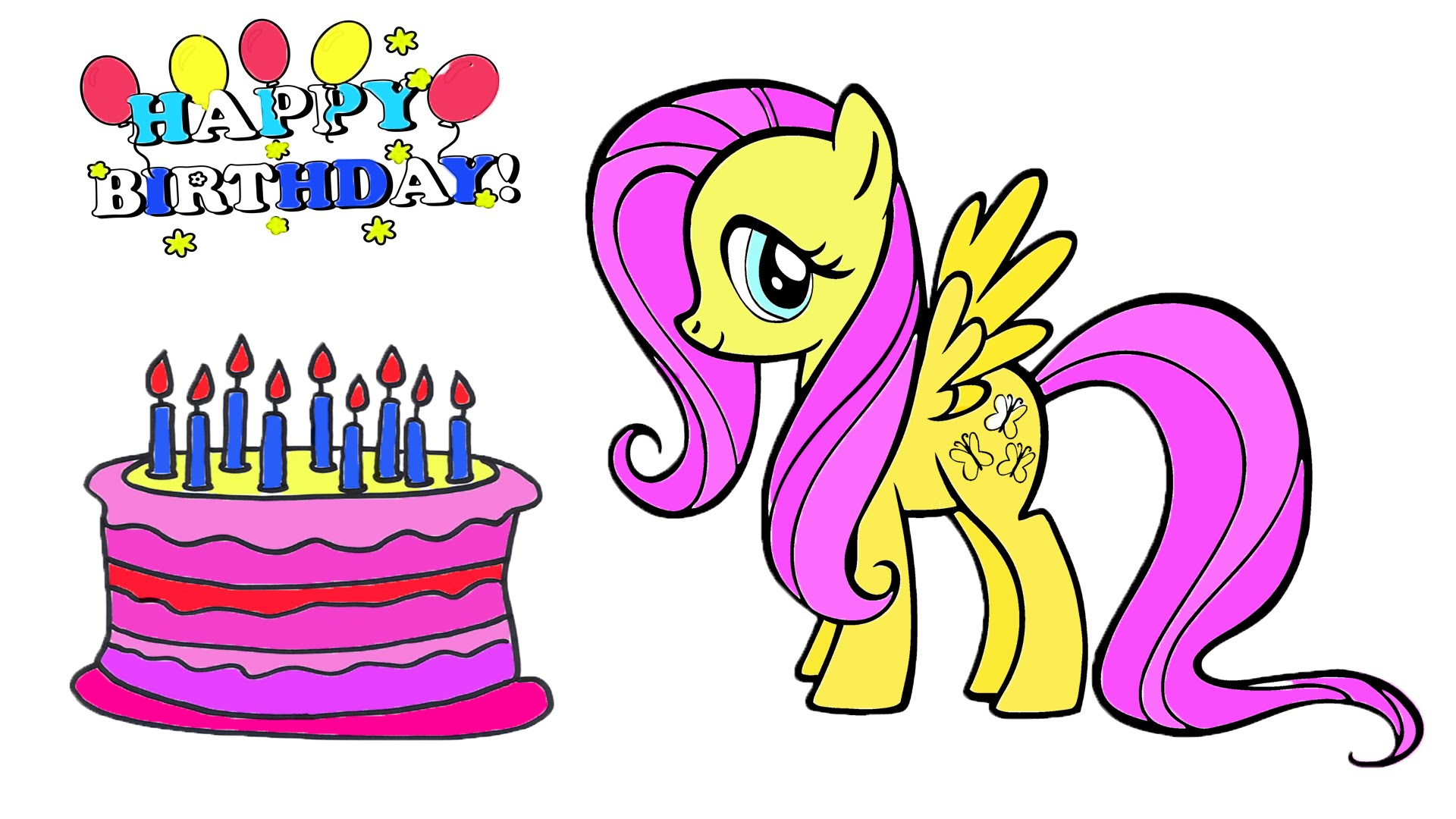 Fluttershy (My Little Pony) coloring #6, Download drawings