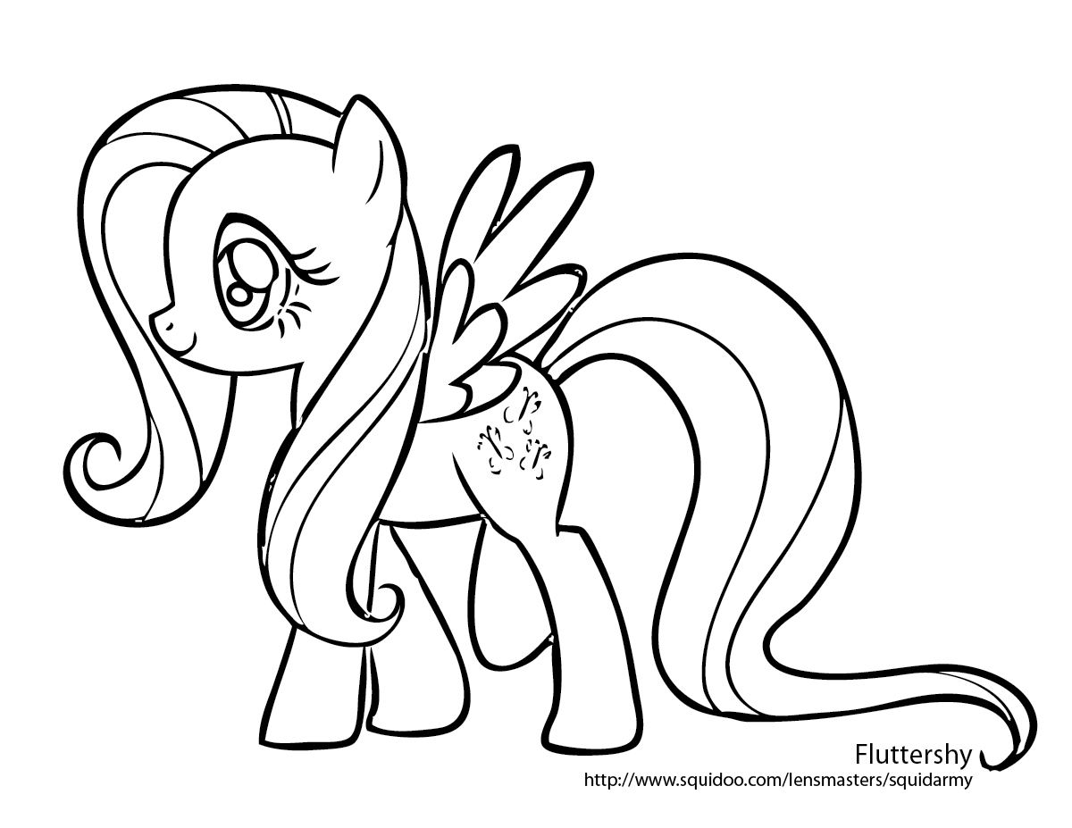 Fluttershy (My Little Pony) coloring #8, Download drawings