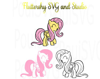 Fluttershy (My Little Pony) svg #17, Download drawings