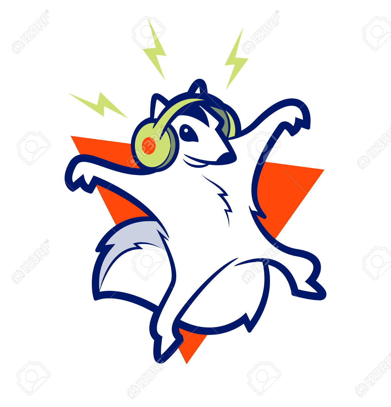 Flying Squirrel clipart #2, Download drawings
