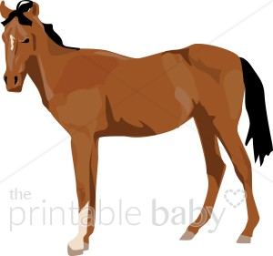 Foal clipart #9, Download drawings