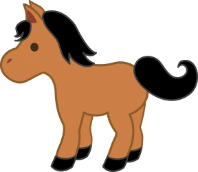 Foal clipart #1, Download drawings