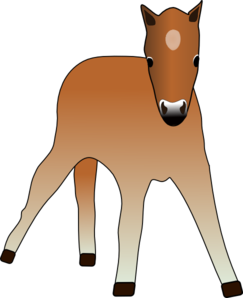 Foal clipart #6, Download drawings