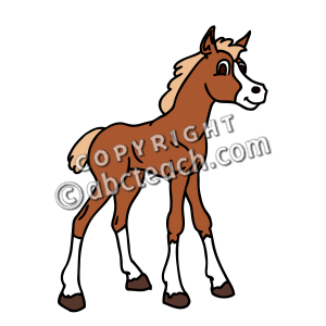 Foal clipart #15, Download drawings