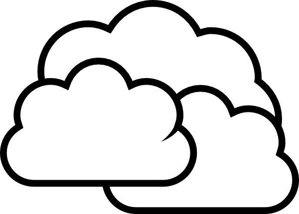 White Cloud coloring #14, Download drawings