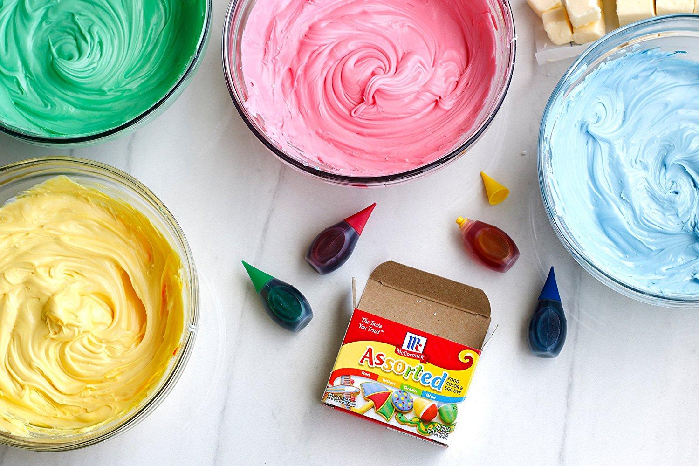 Food coloring #6, Download drawings