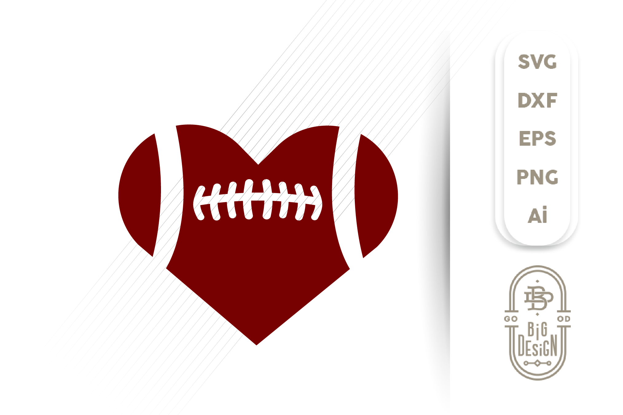 football heart svg #98, Download drawings