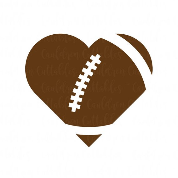 football heart svg #100, Download drawings
