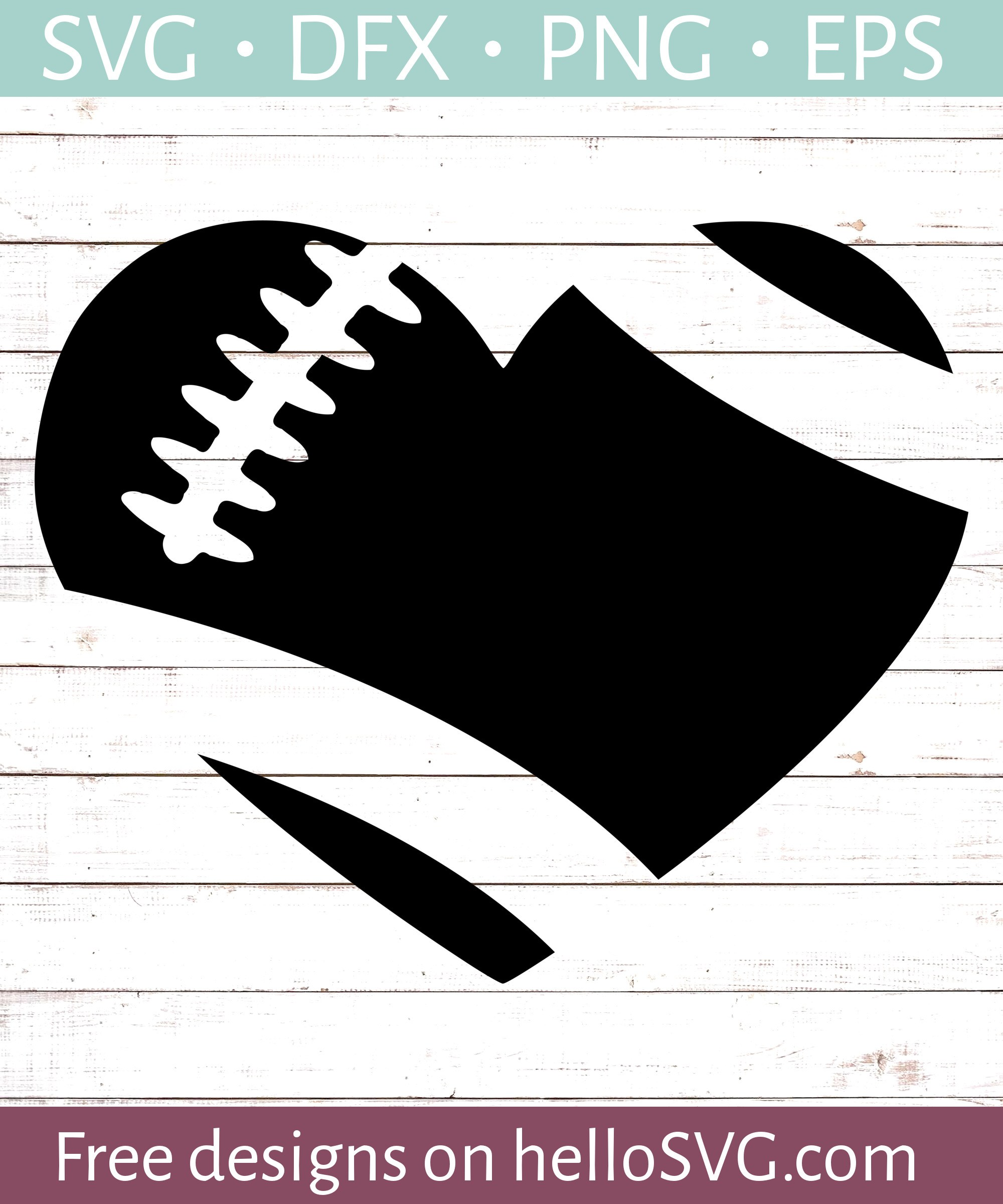 football heart svg #94, Download drawings