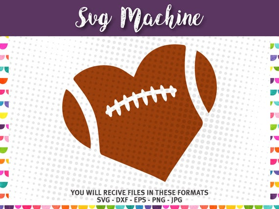 football heart svg #97, Download drawings