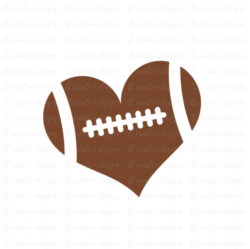football heart svg #95, Download drawings