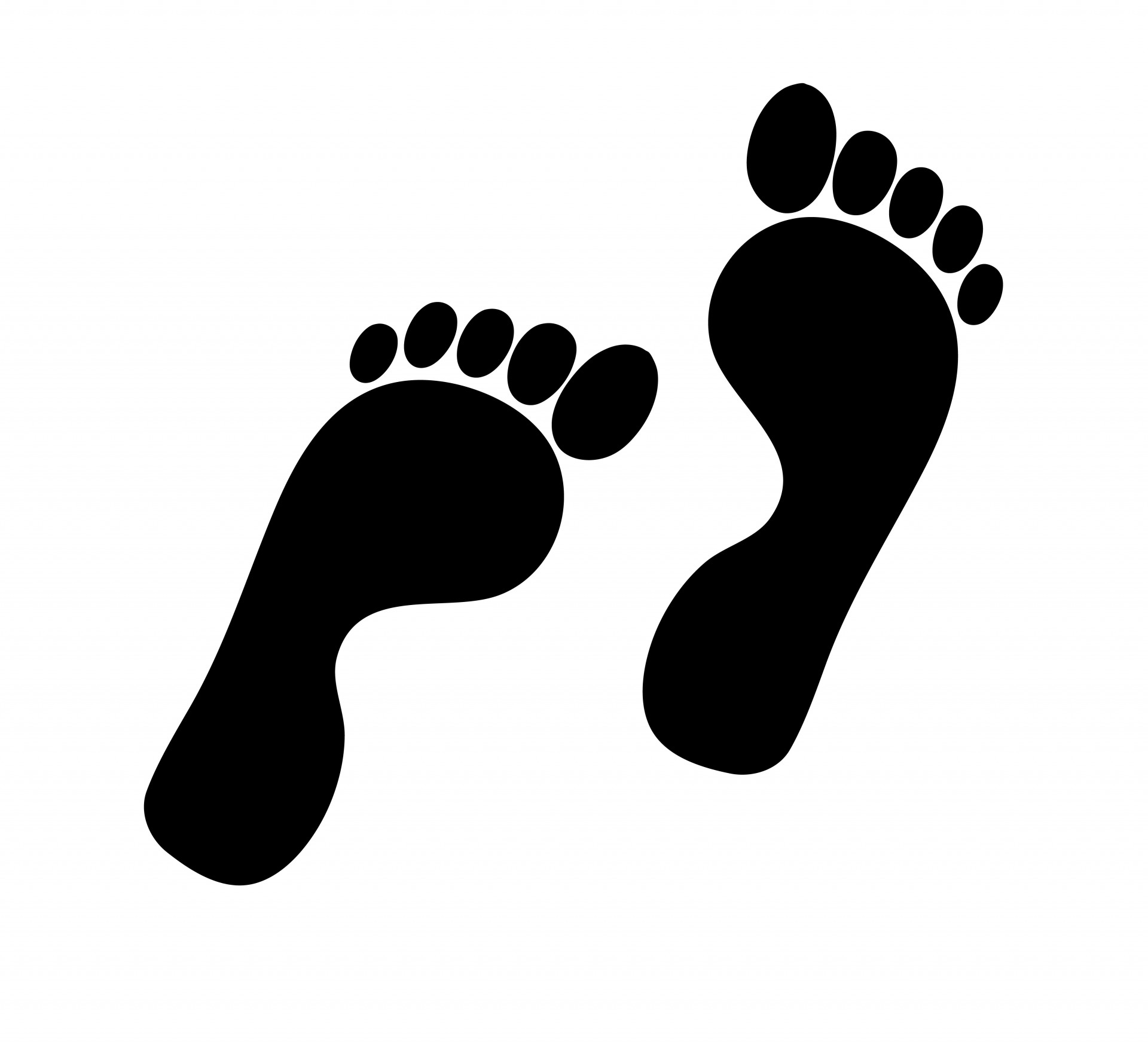 Footprint clipart #6, Download drawings