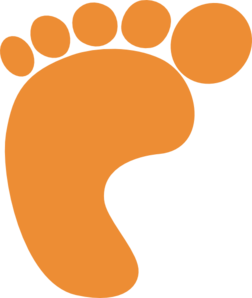 Footprint clipart #12, Download drawings