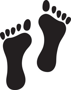 Footprint clipart #14, Download drawings