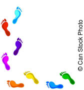 Footsteps clipart #13, Download drawings