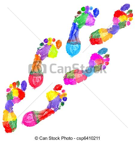Footsteps clipart #3, Download drawings
