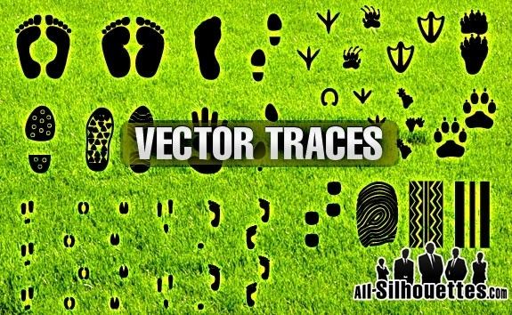 Footsteps svg #1, Download drawings
