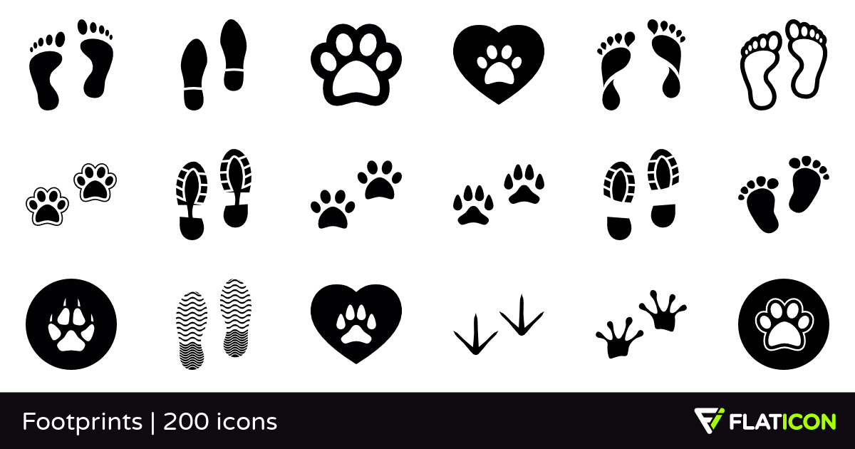 Footsteps svg #12, Download drawings