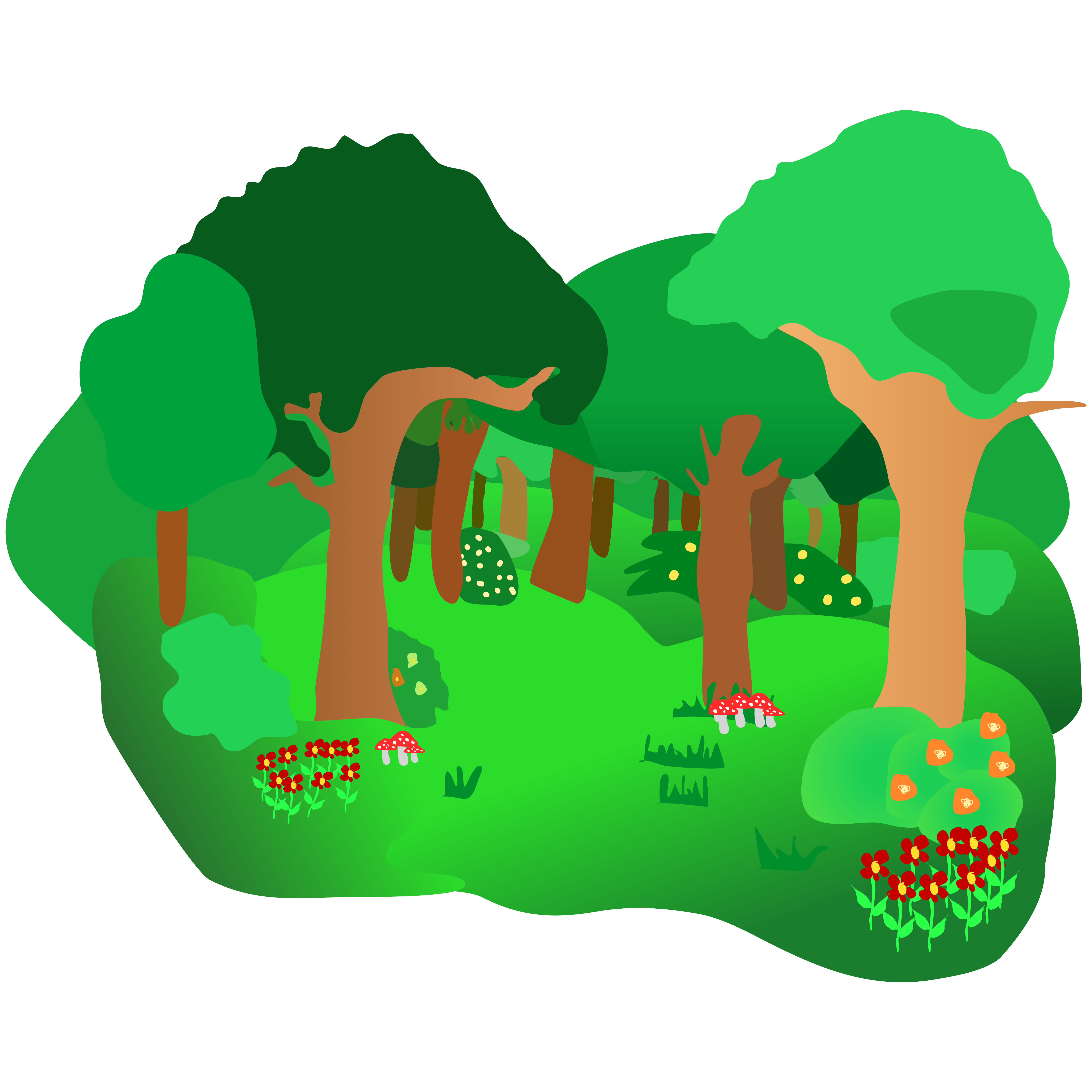 Forest clipart #3, Download drawings
