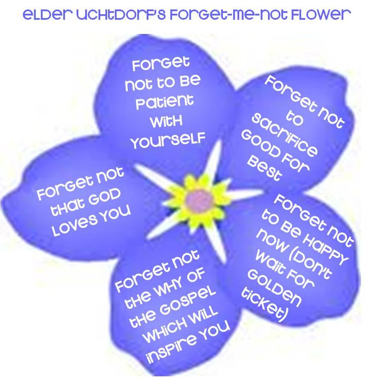 Forget-Me-Not clipart #1, Download drawings