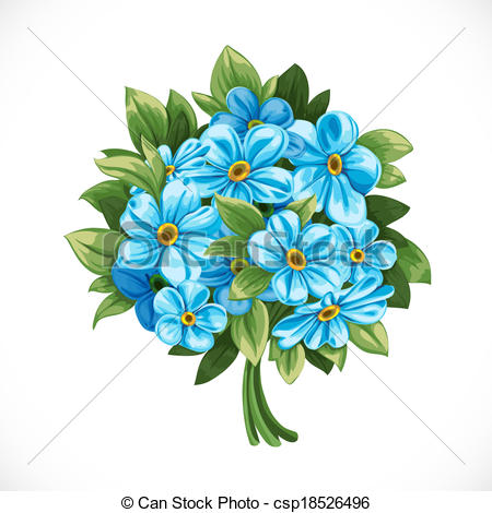 Forget-Me-Not clipart #3, Download drawings