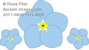 Forget-Me-Not clipart #2, Download drawings