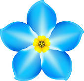 Forget-Me-Not clipart #18, Download drawings