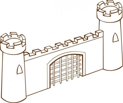 Fort clipart #8, Download drawings