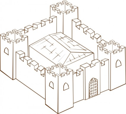 Fort clipart #14, Download drawings