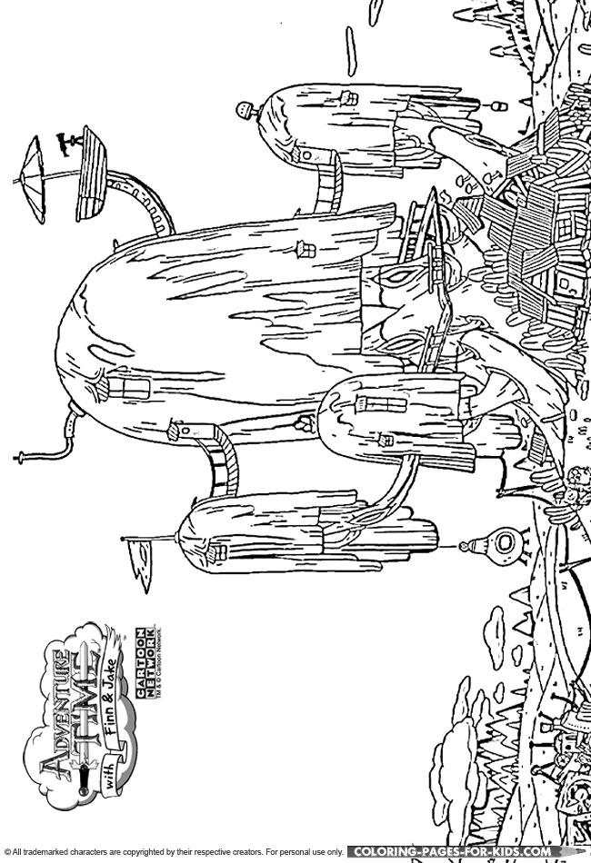 Fort coloring #3, Download drawings