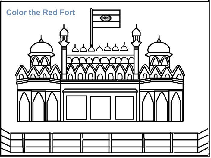 Fort coloring #19, Download drawings
