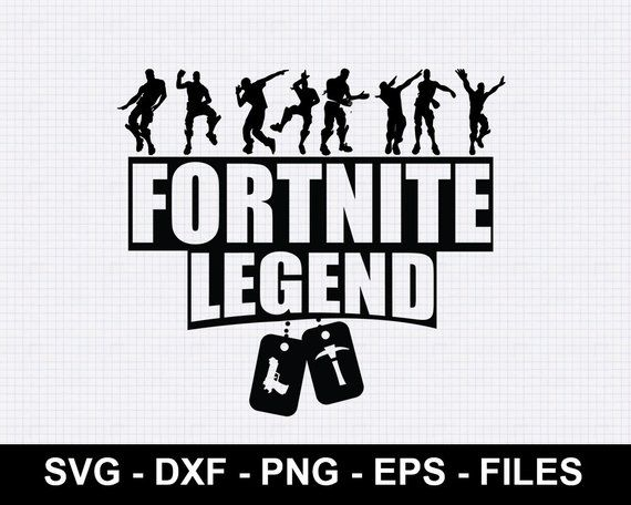 fortnite logo svg #761, Download drawings