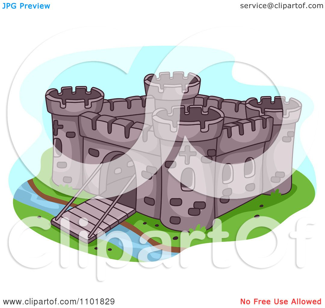Fortress clipart #2, Download drawings