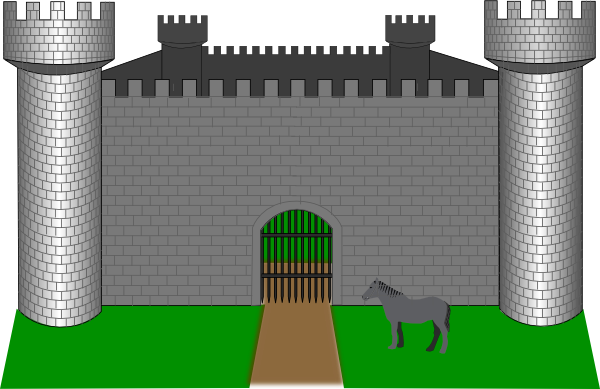 Fortress clipart #10, Download drawings