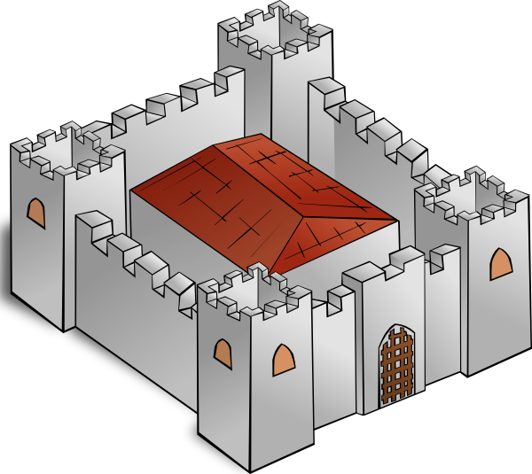 Fortress clipart #18, Download drawings