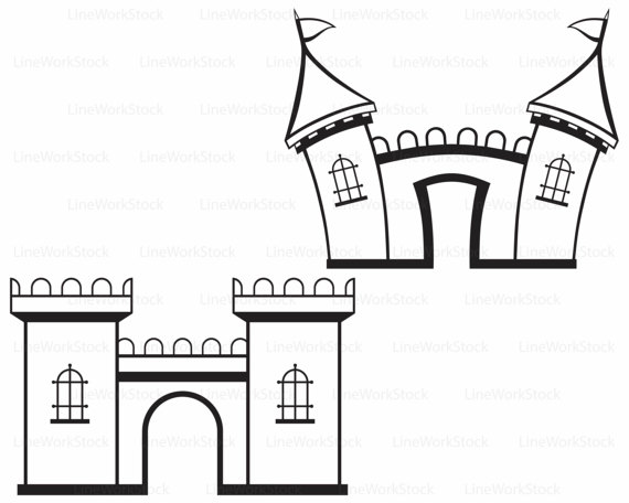 Fortress svg #2, Download drawings