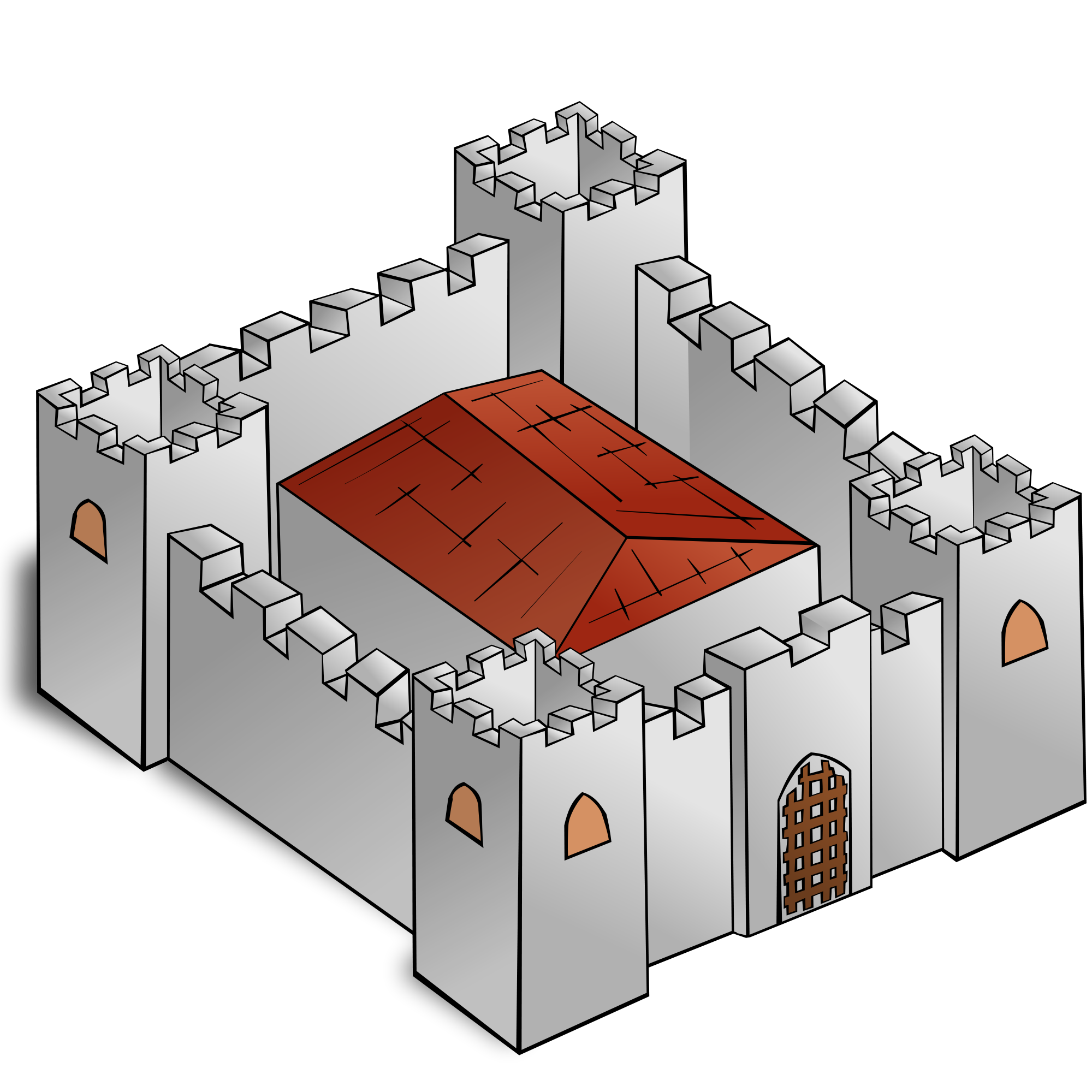 Fortress svg #16, Download drawings