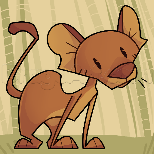 Fossa clipart #2, Download drawings