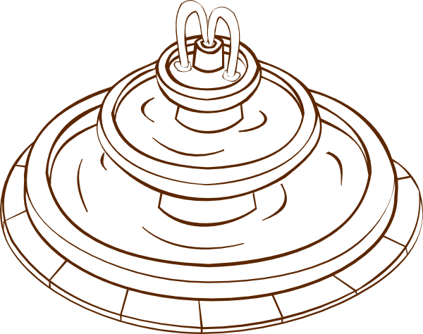 Fountain clipart #4, Download drawings