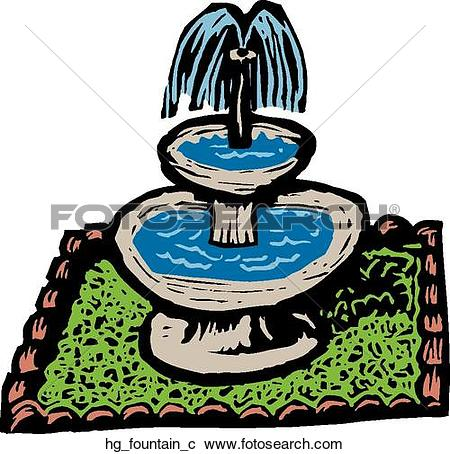 Fountain clipart #9, Download drawings