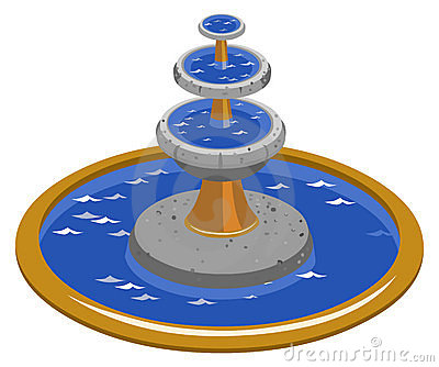 Fountain clipart #10, Download drawings