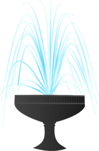 Fountain clipart #6, Download drawings