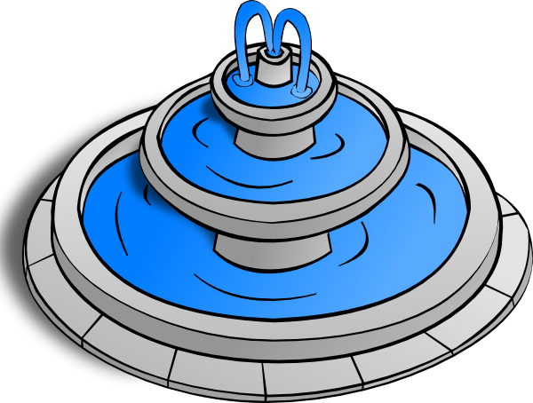 Fountain clipart #20, Download drawings