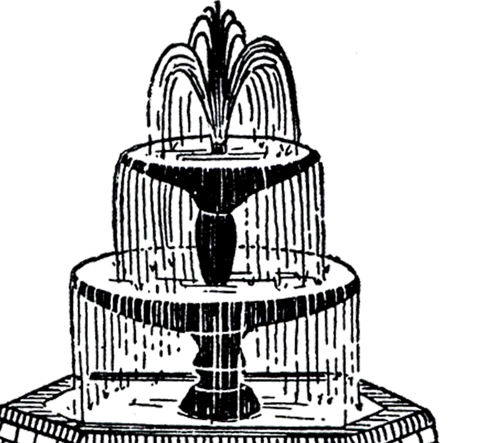 Fountain clipart #13, Download drawings