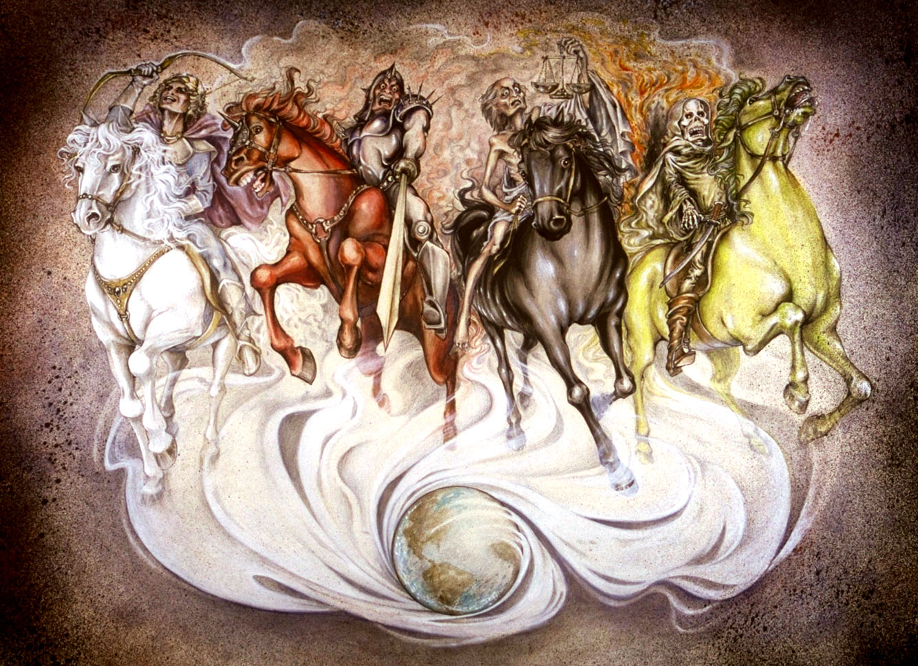 Four Horsemen Of The Apocalypse clipart #13, Download drawings
