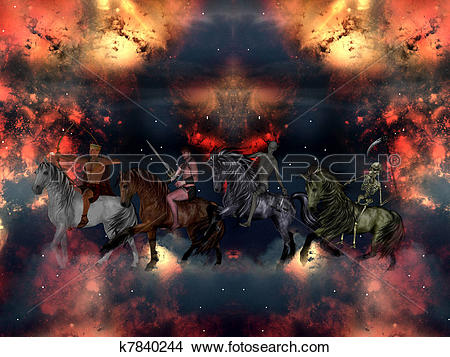 Four Horsemen Of The Apocalypse clipart #5, Download drawings