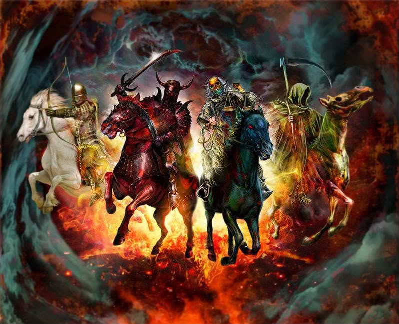 Four Horsemen Of The Apocalypse clipart #6, Download drawings